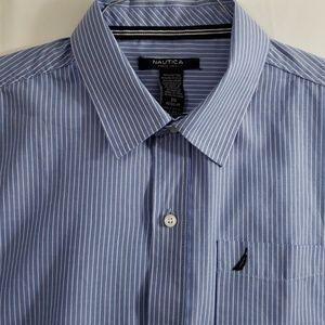 Nautica stripe dress shirt